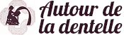 Autour de la dentelle Logo